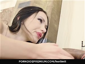 HER restrain - rough assfuck and face shag with Sasha Rose