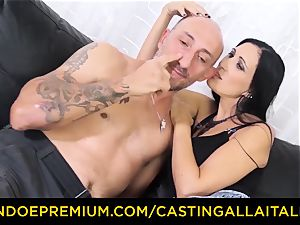 casting ALLA ITALIANA - filthy novice assfuck audition