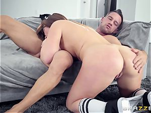 Maddy OReilly pummeled rock hard by Johnnys firm prick