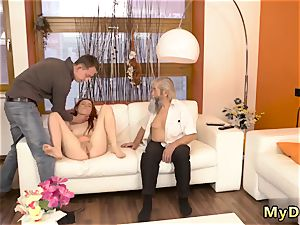 milf nubile raunchy unexpected experience with an older gent