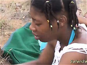nasty african safari hook-up bang-out