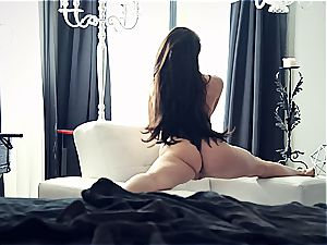 youthful pornstar Lana Rhoades is outstanding