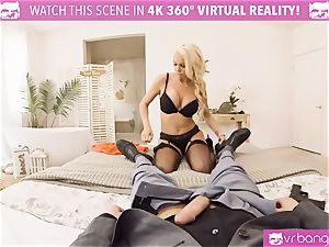 VR PORN-big jugs ash-blonde Kenzie Taylor