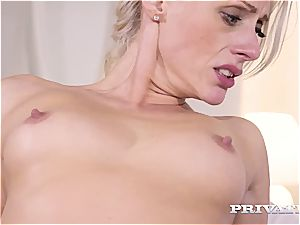 Private.com mummy takes rectal therapy