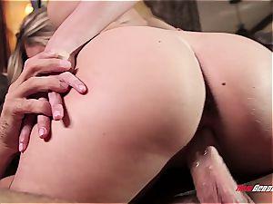 cuckold wife rides stiff schlong