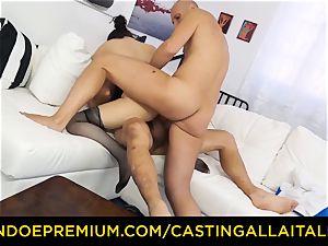 audition ALLA ITALIANA - red-hot mummy has dual anal joy