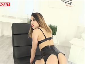 fabulous Latina gets hardcore assfuck fuck-a-thon from ginormous pipe man