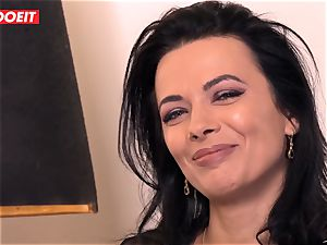 LETSDOEIT - Romanian sweetie Creamed By a French hard-on