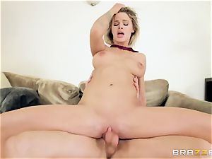 youthful punk tears up his neighbor's uber-sexy daughter Jessa Rhodes
