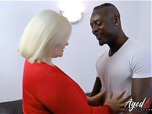 AgedLovE Lacey Starr interracial hard-core assfuck