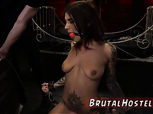 restrain bondage drill and kink bound group sex very first time excited youthful tourists Felicity Feline