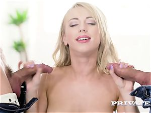 Private.com - Kira Thorn gets her fuck holes penetrated