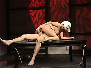 Charley chase is a platinum haired plumb nymph