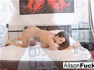 Alison Tyler taunts with her wand