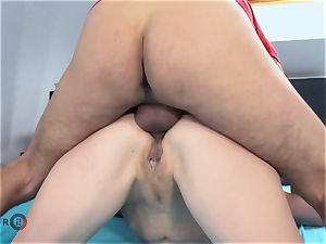 HITZEFREI German mature muddy Tina has her ass screwed