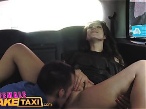 dame fake taxi mummy gives dangled boy lessons in hump