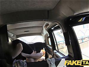 faux cab redhead gets sloppy with future sugar daddy