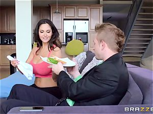 Ava Addams is romped in both her wet crevices