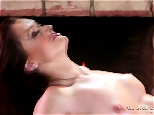 Karlie Montana and Megan Rain impressive facesetting and climax
