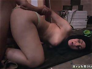Arab mega-bitch first-ever time bone dreams!