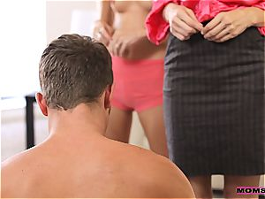 MomsTeachSex duo plows sizzling old mommy