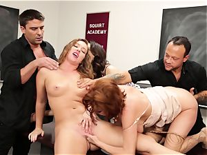 Classroom dumping session with Veronica Avluv and Maddy OReilly