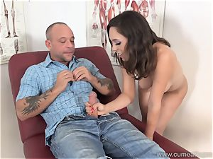 Jade Nile Has Her husband gargle pecker and witness Her