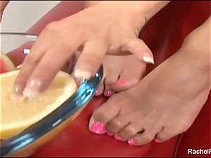 gloppy sole fetish joy and ravaging with Rachel Roxxx