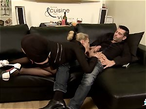 LA COCHONNE - super hot ass fucking with horny French ash-blonde