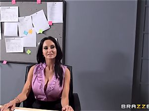 huge-titted schoolteacher Ava Addams is plumbed by her student
