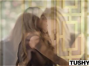 TUSHY stunners Cassidy Klein and Aubrey star Do buttfuck