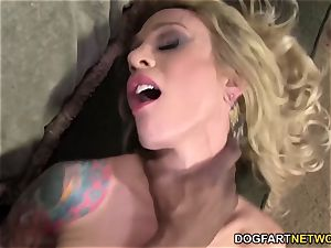 Sarah Jessie likes big black cock