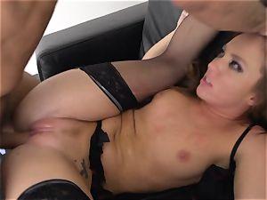 Maddy OReilly slammed utter in her lingerie