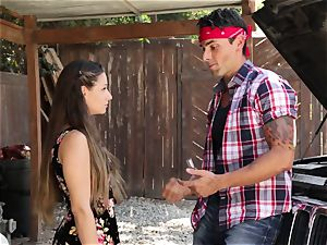 Cassidy Klein gives her dude a goodbye nailing