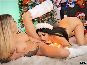 Spizoo - Karma and Valentina Nappi ravage each other firm